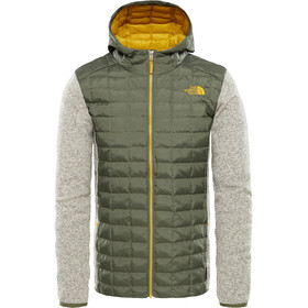 The North Face Thermoball Gordon Lyons Hybrid Hoodie Men Four Leaf Clover/Oatmeal Heather